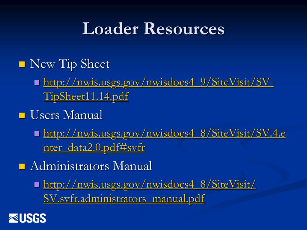 Loader Resources