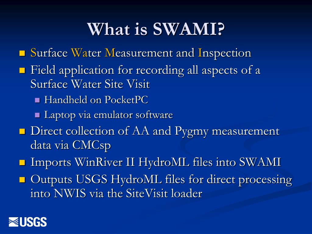 What is SWAMI?