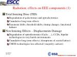 radiation effects on eee components 1