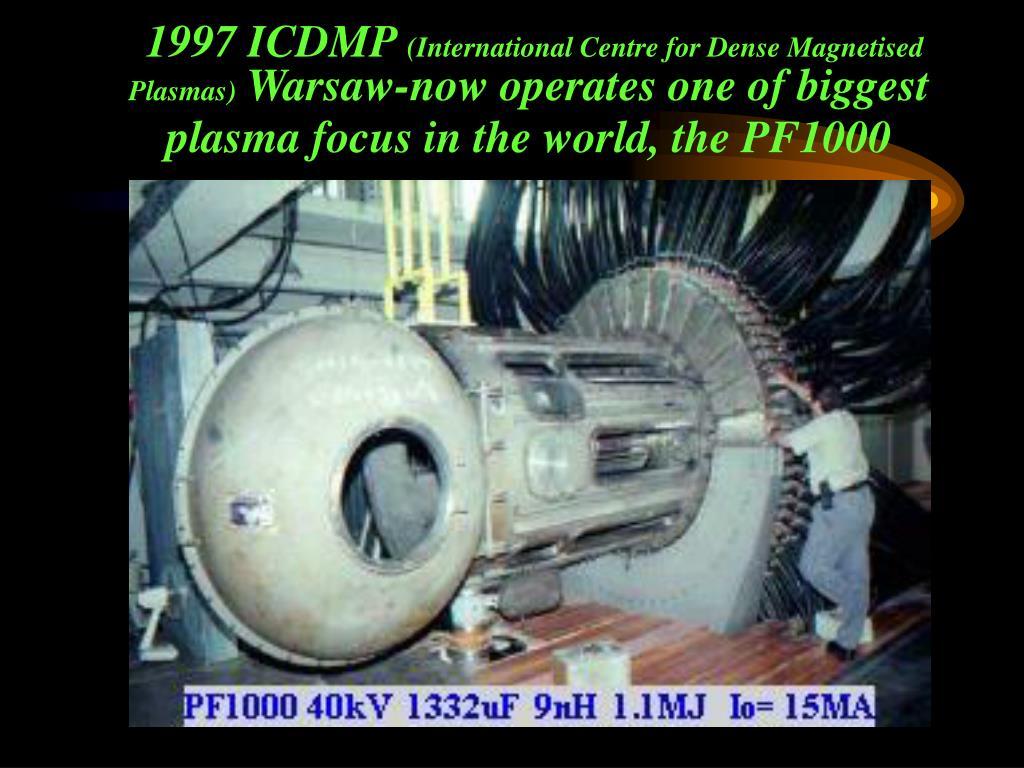 1997 ICDMP