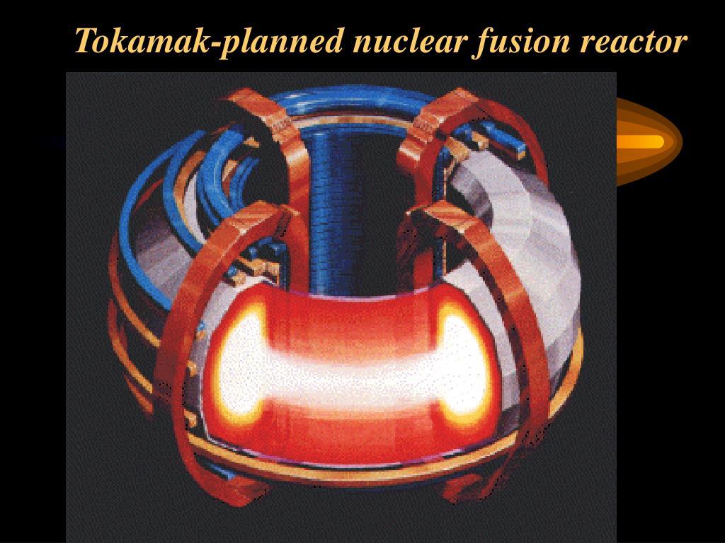 Tokamak-planned nuclear fusion reactor