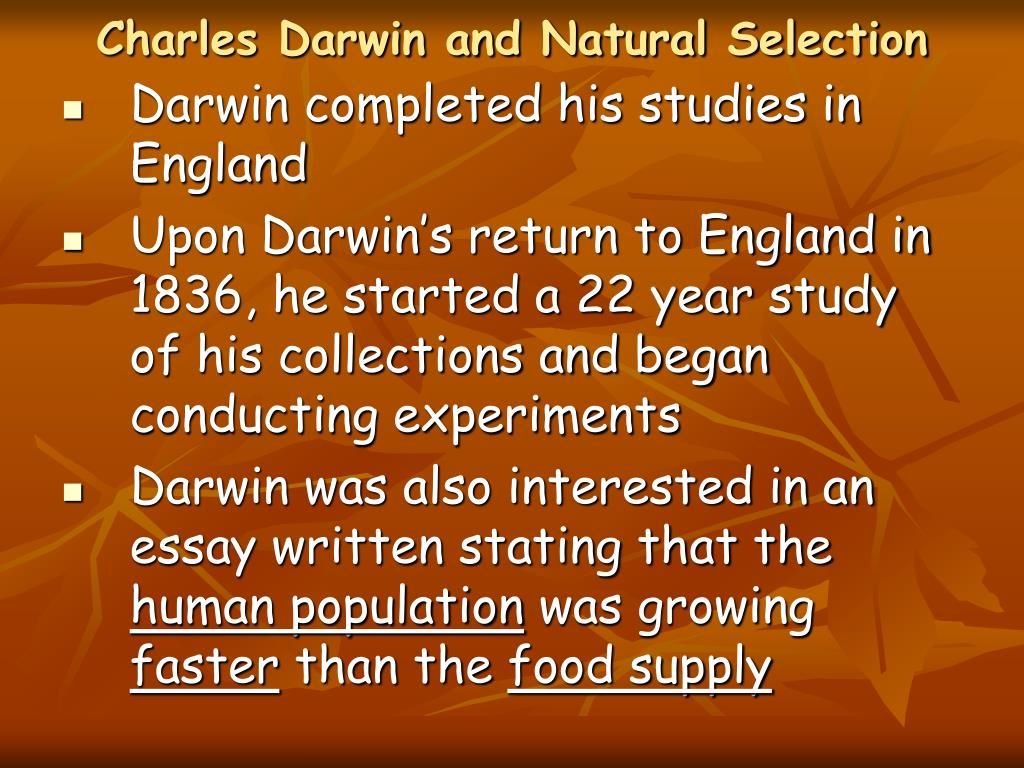 charles darwins impact upon our world essay His theories led to the study of the modern evolutionary theory of the world charles was  charles darwin our society depends upon  impact on the world.
