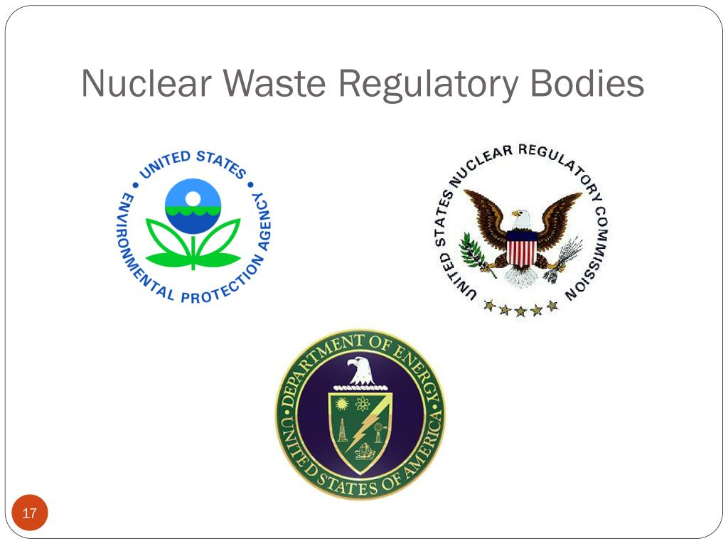 Nuclear Waste Regulatory Bodies