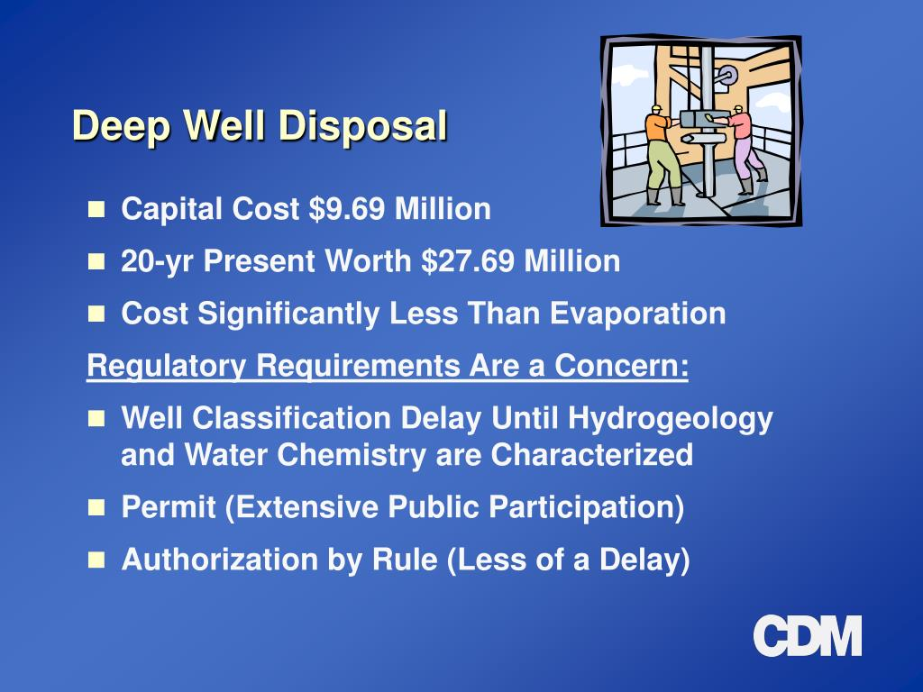 Deep Well Disposal