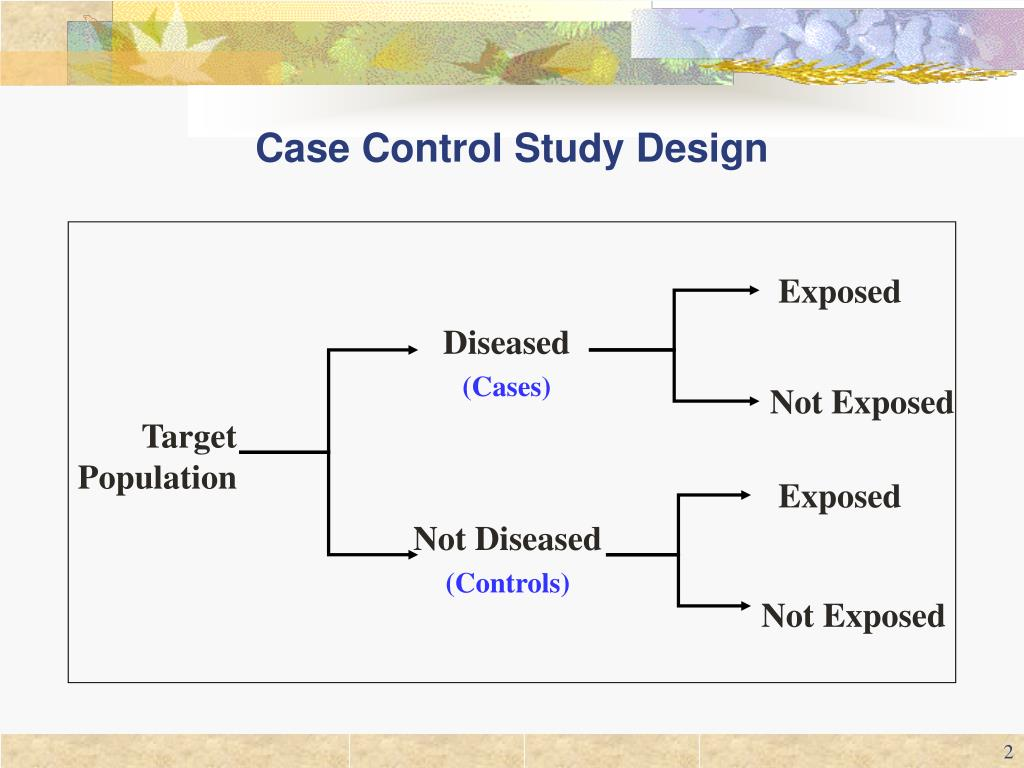 case controlled study