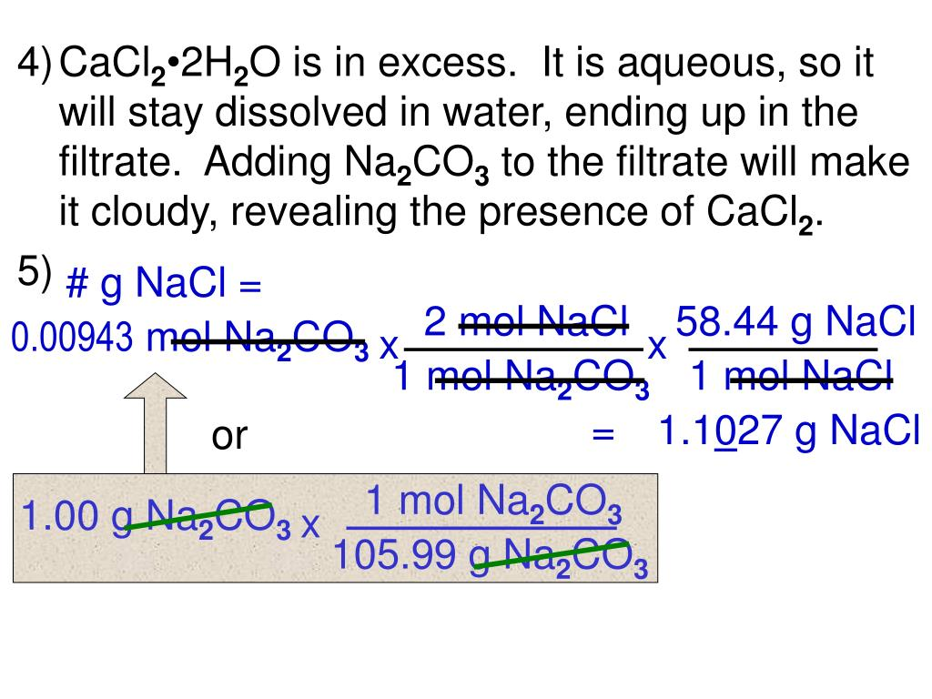 na2co3 cacl2 Investigated the microspheres were prepared by mixing aqueous solutions of  cacl2 and na2co3 in the presence of insulin the surface of.