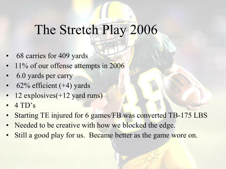 The Stretch Play 2006