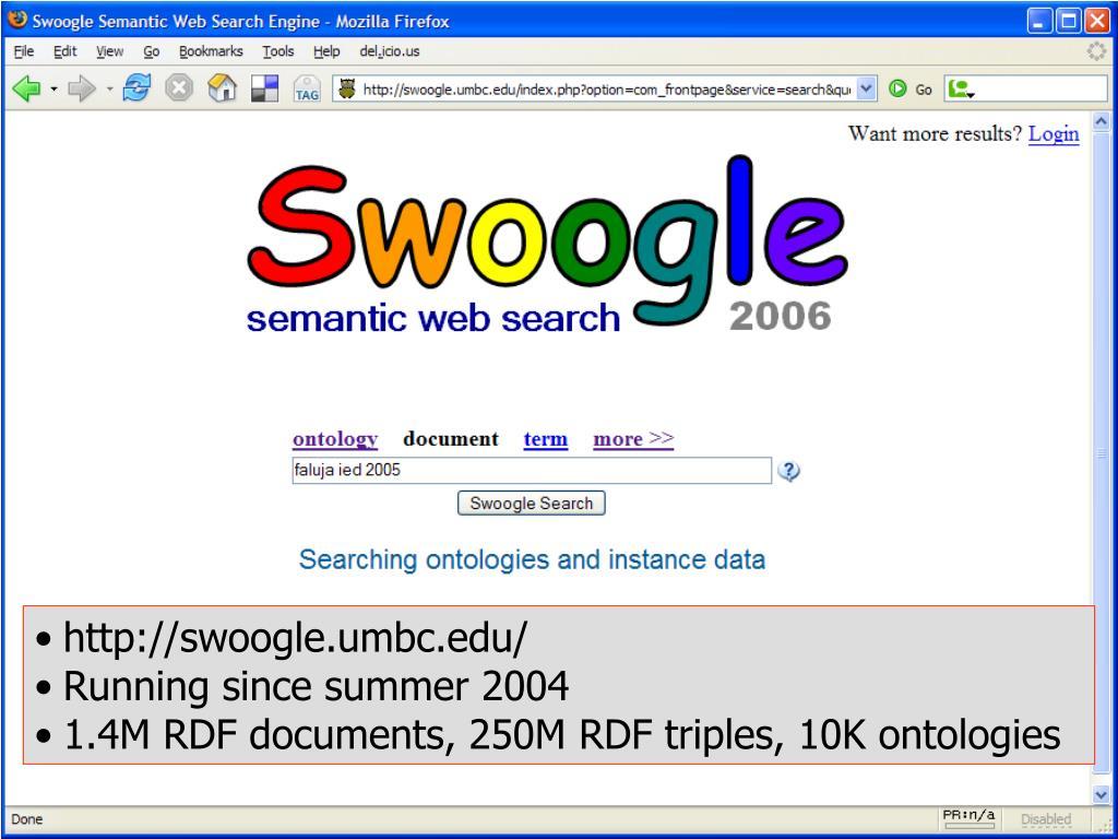 http://swoogle.umbc.edu/