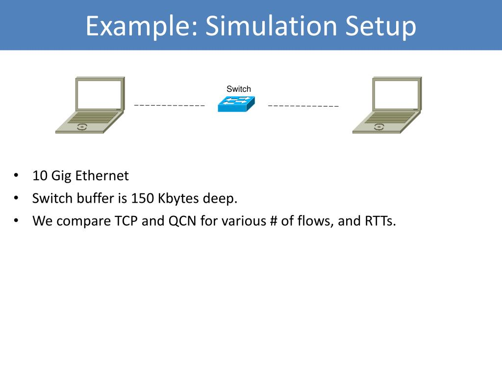 Example: Simulation Setup
