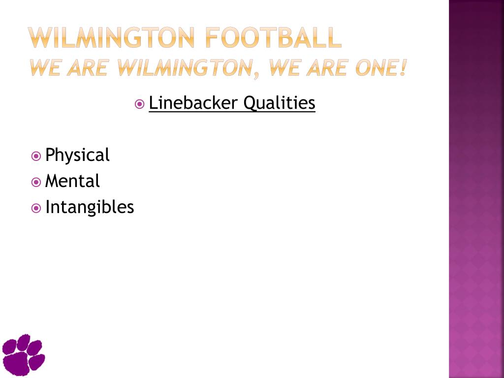 Wilmington Football