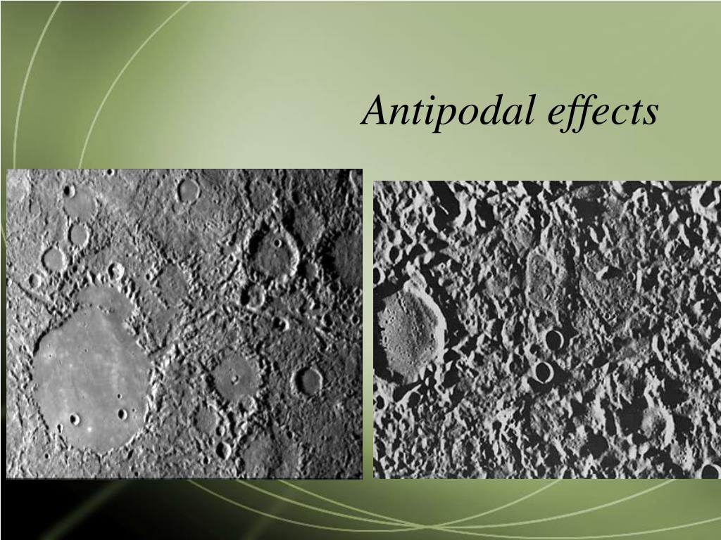 Antipodal effects