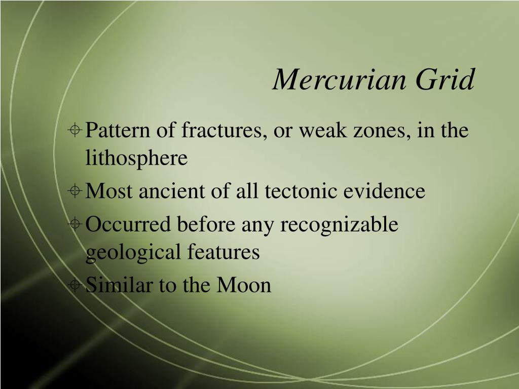 Mercurian Grid
