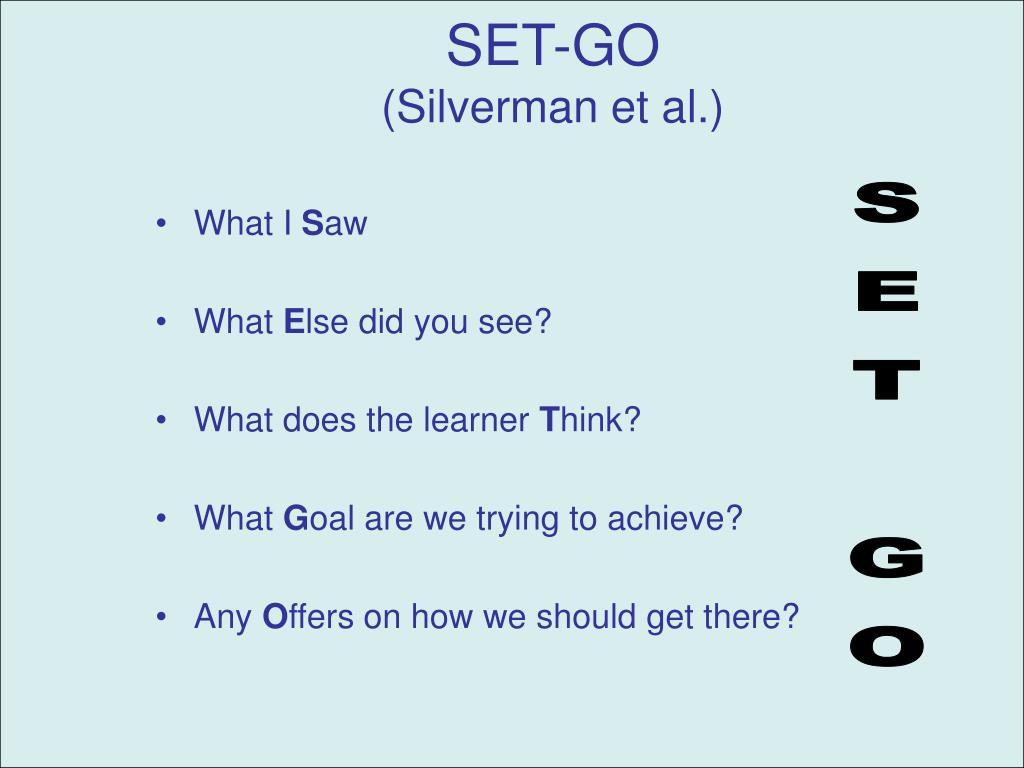 SET-GO