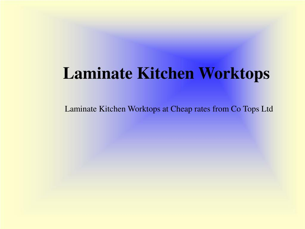 Laminate Kitchen Worktops