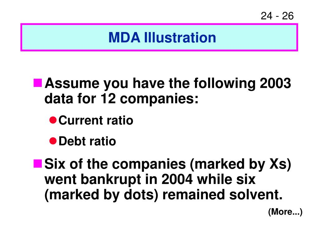 MDA Illustration