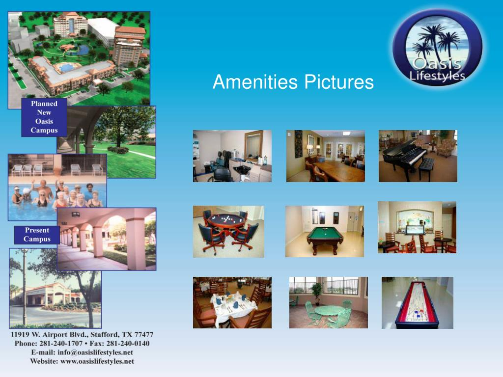 Amenities Pictures