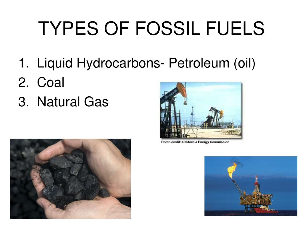 Fossil fuels definition