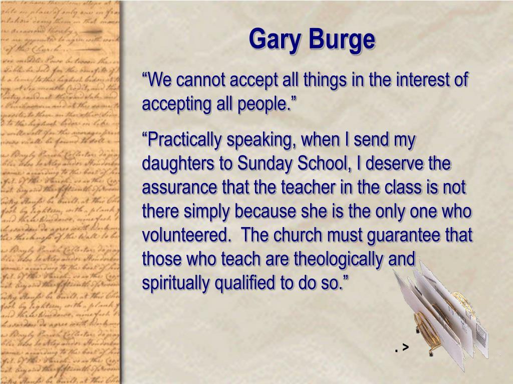 Gary Burge