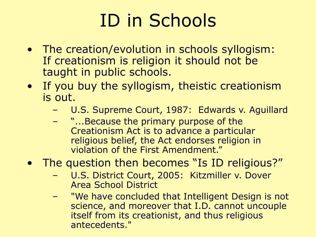 ID in Schools