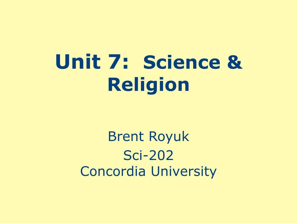 Unit 7: