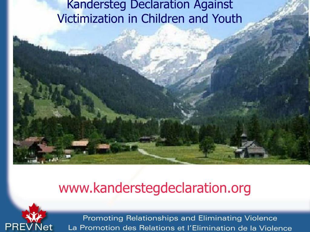 www.kanderstegdeclaration.org