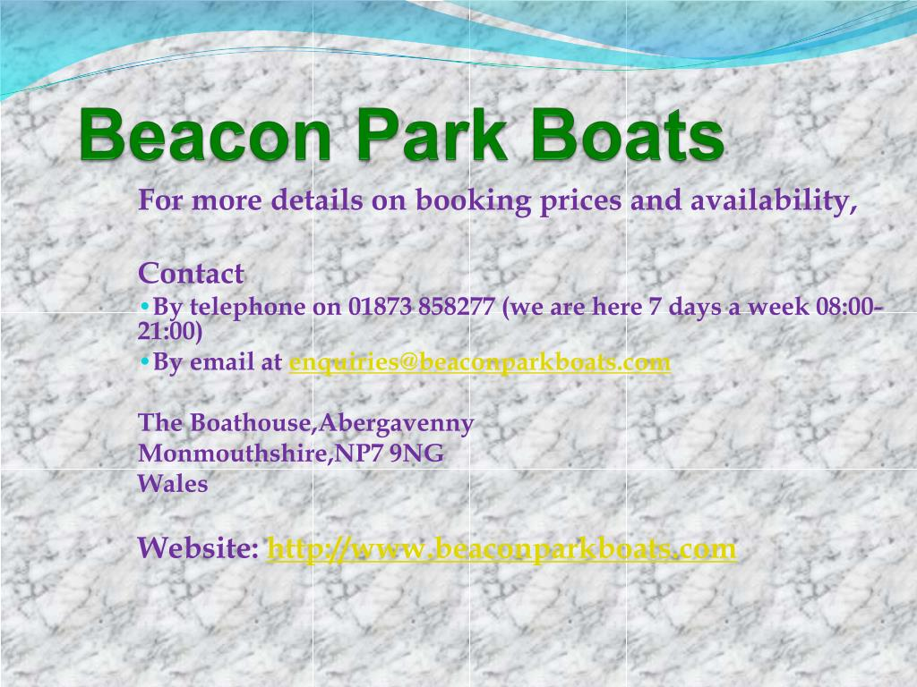 Beacon Park Boats