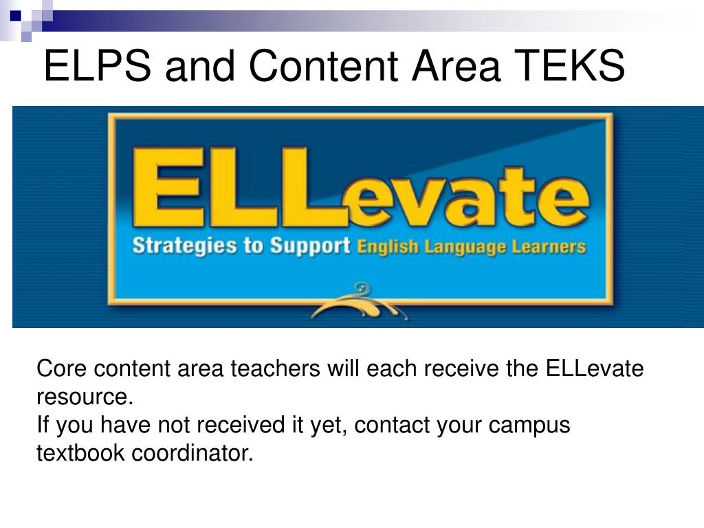PPT - ELLevate: Strategies to Support English Language ...