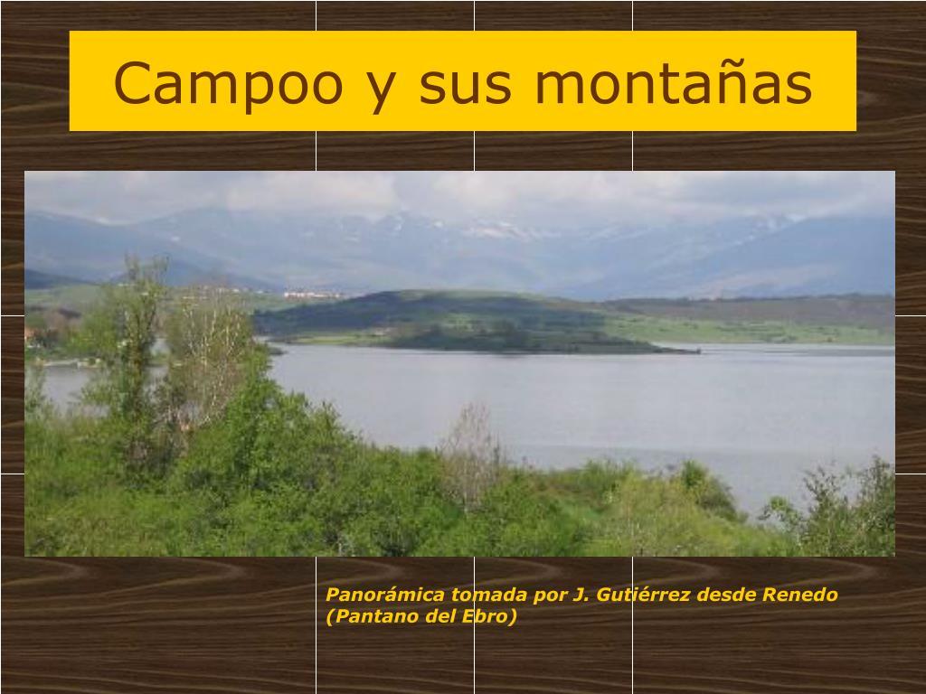 Campoo y sus montañas