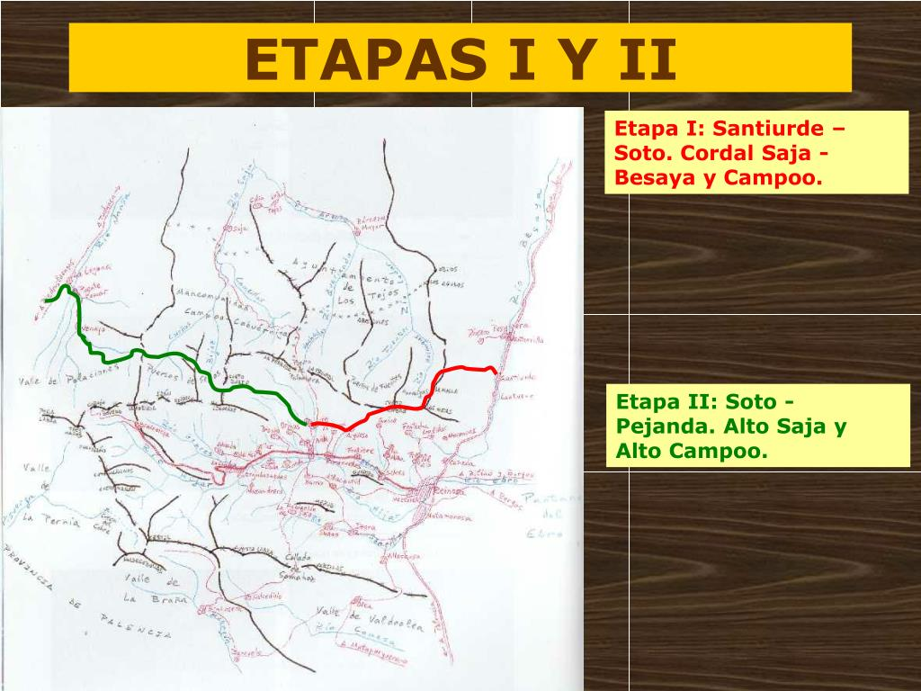 ETAPAS I Y II