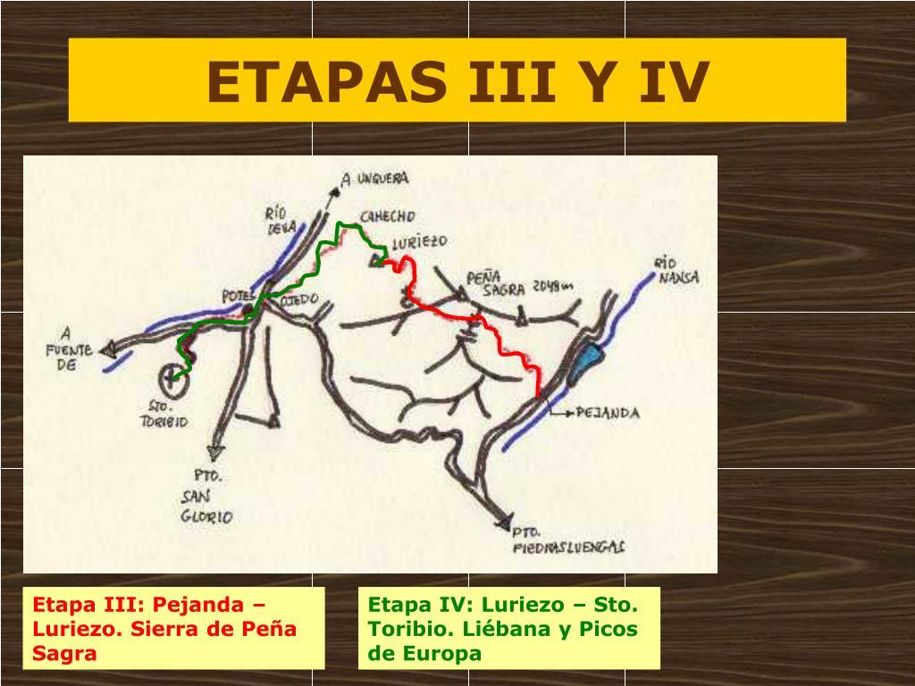 ETAPAS III Y IV