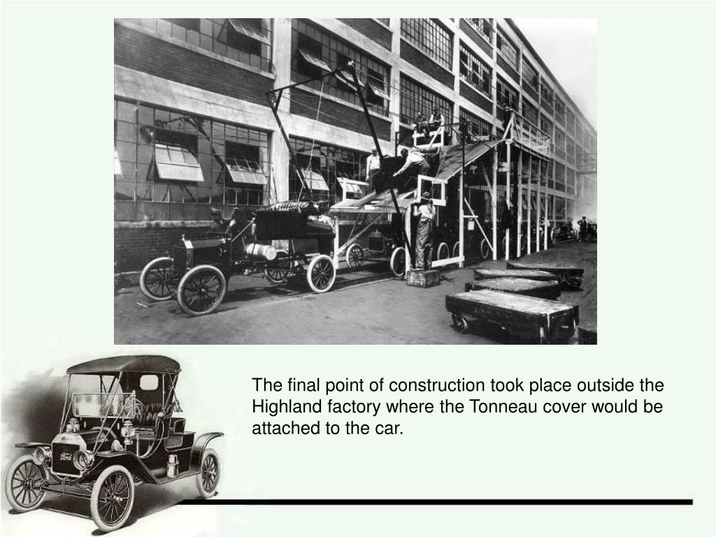 The final point of construction took place outside the Highland factory where the Tonneau cover would be attached to the car.