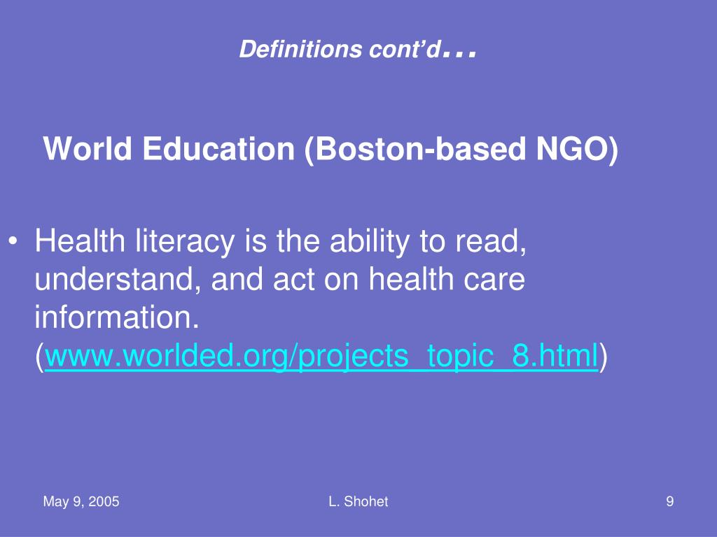 World Education (Boston-based NGO)