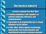 the service industry15
