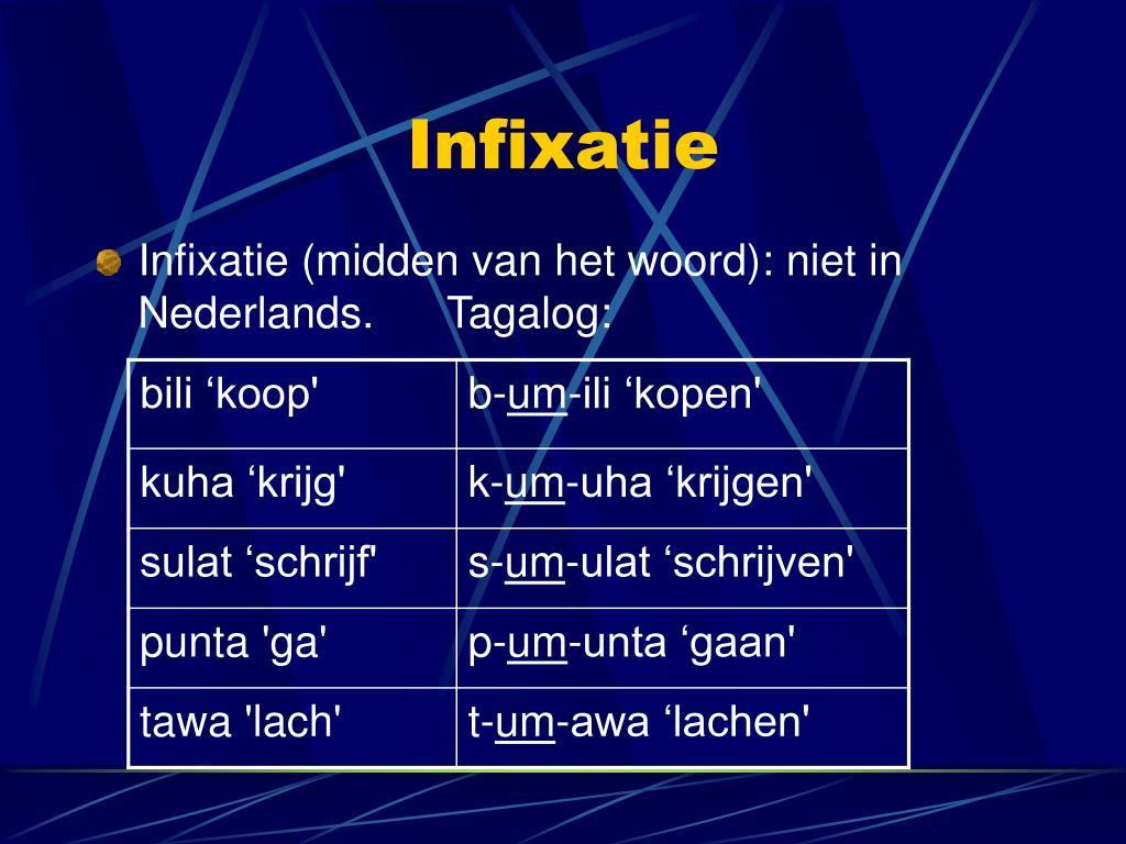 Infixatie