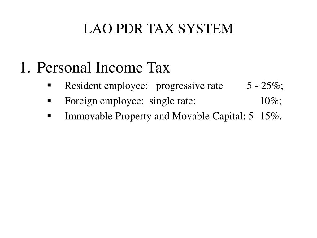 tax system A proportional tax system is one in which income tax is the same percentage of income from every person no matter how much income the person makes.