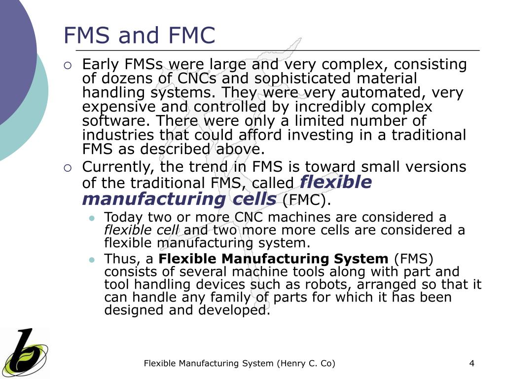 FMS and FMC