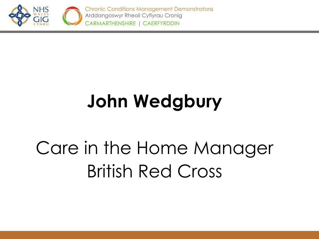 John Wedgbury