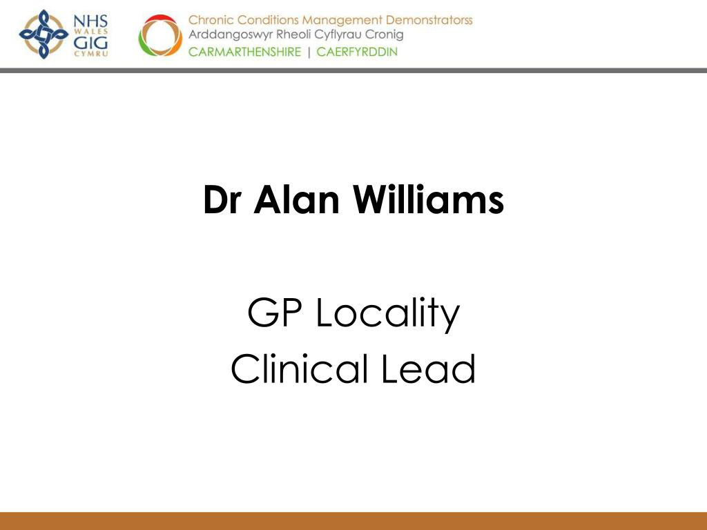 Dr Alan Williams
