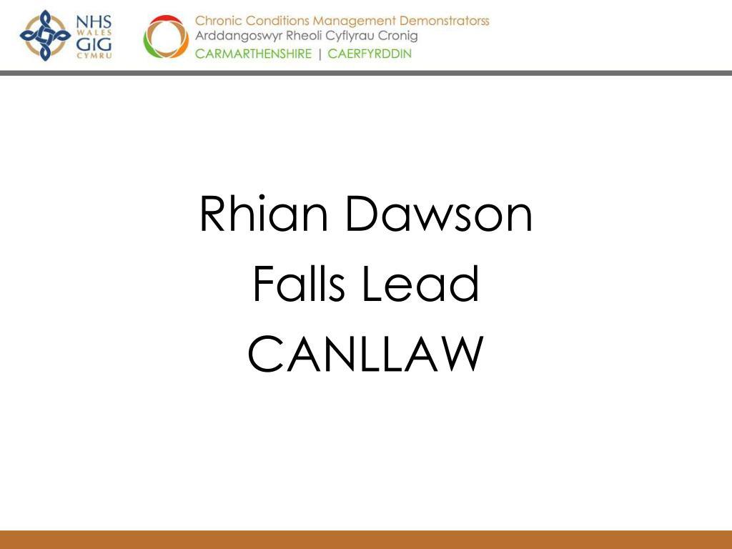 Rhian Dawson