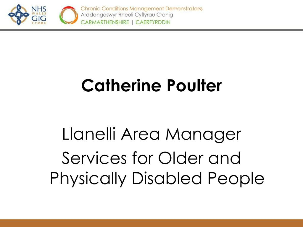 Catherine Poulter