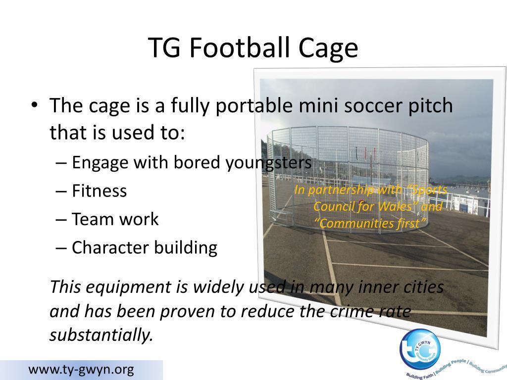 TG Football Cage