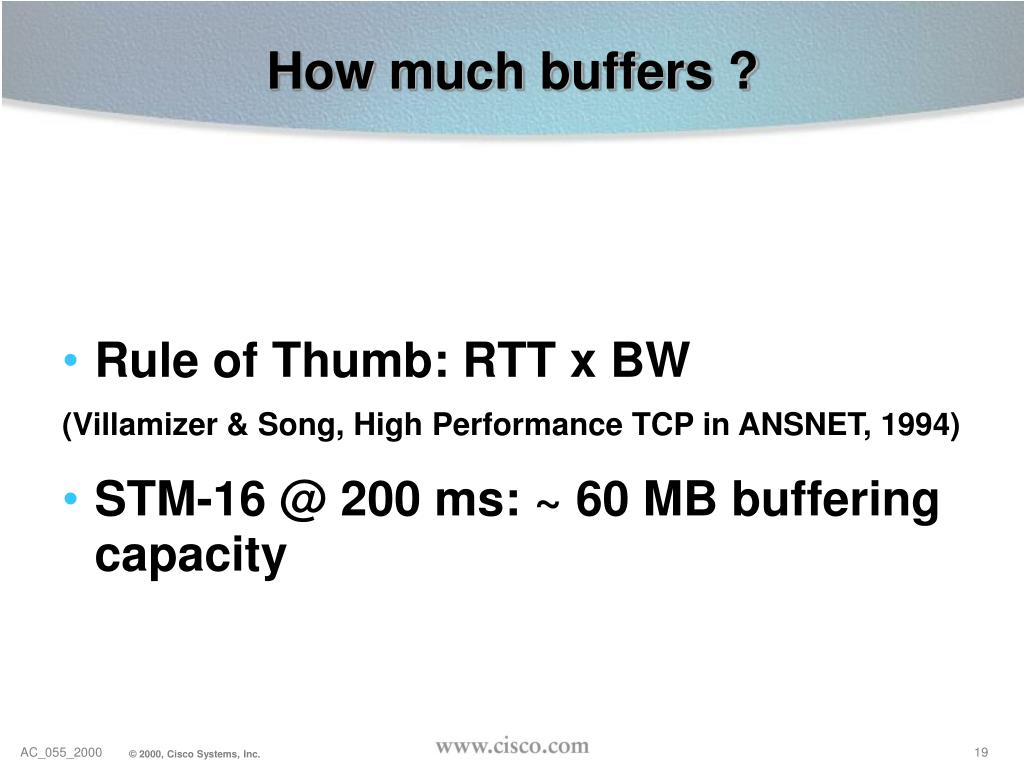 How much buffers ?