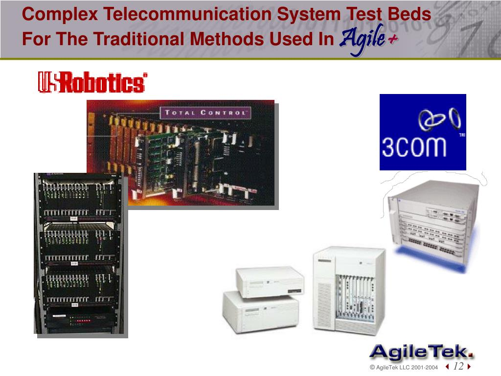 Complex Telecommunication System Test Beds For The Traditional Methods Used In