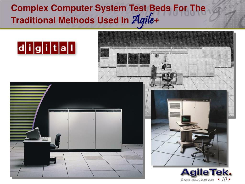 Complex Computer System Test Beds For The Traditional Methods Used In