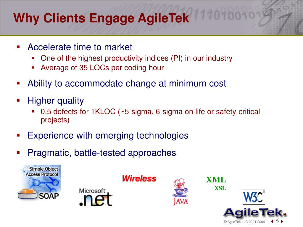 Why Clients Engage AgileTek