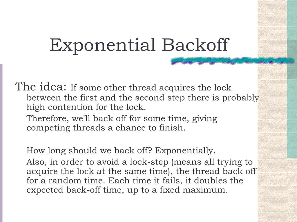 Exponential Backoff