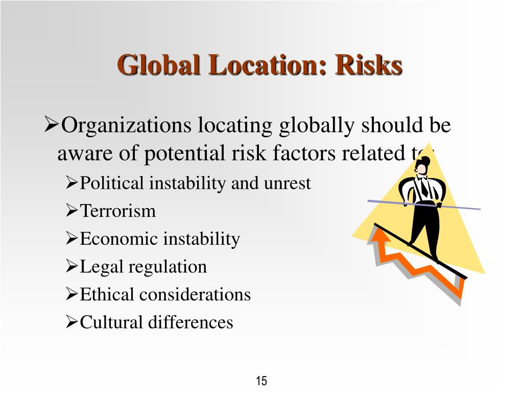 Global Location: Risks