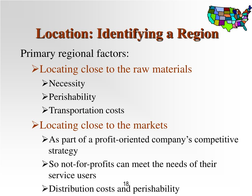 Location: Identifying a Region