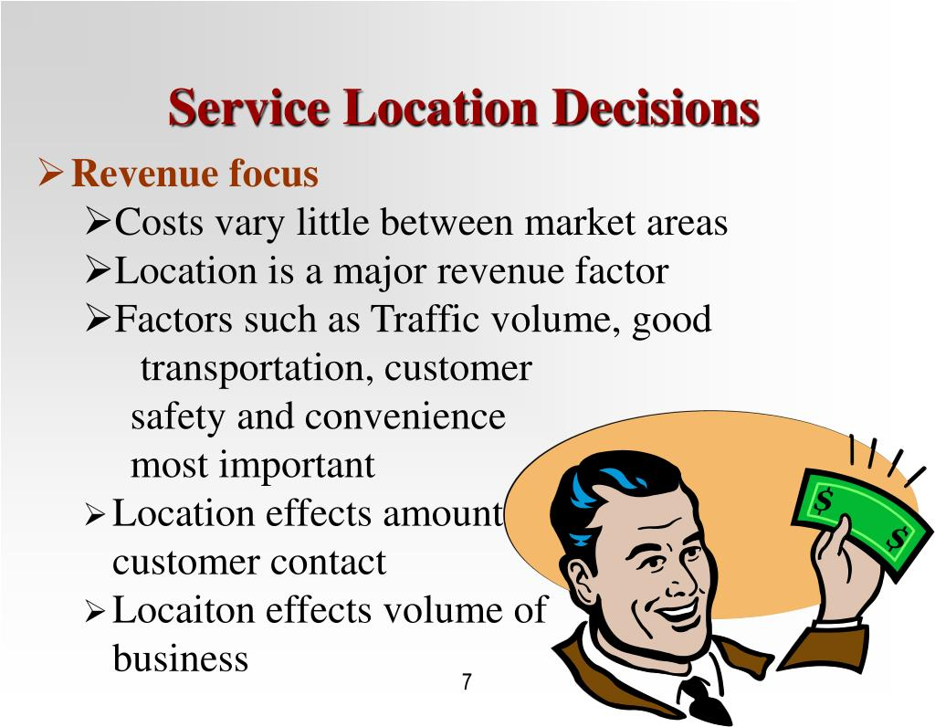 Service Location Decisions