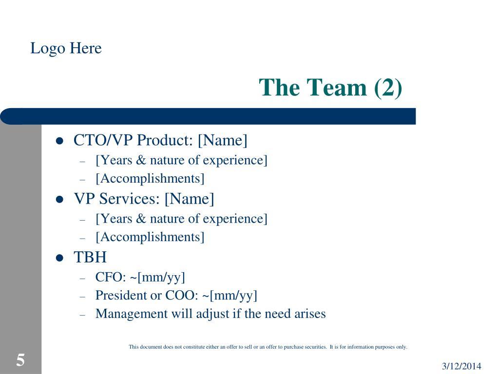 The Team (2)